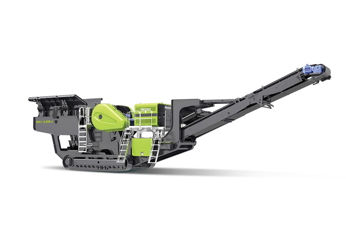 美斯达MC-120J履带移动颚式破碎站高清图 - 外观