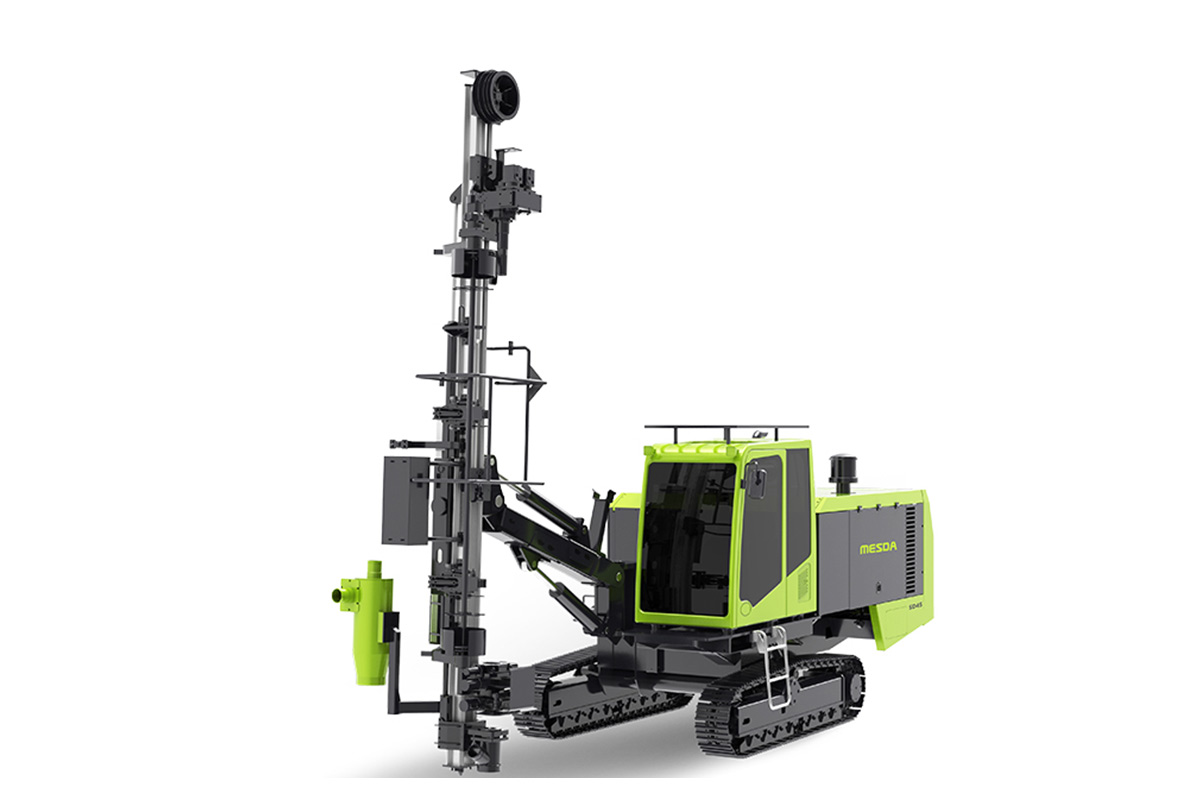 美斯达SD45全液压露天潜孔钻机高清图 - 外观