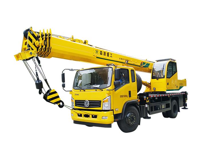 森源重工新款10吨吊车汽车起重机