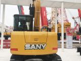 三一重工SY75C小型挖掘機高清圖 - 2020寶馬展實拍