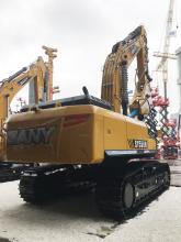 三一重工SY550H大型挖掘机高清图 - 2020宝马展实拍
