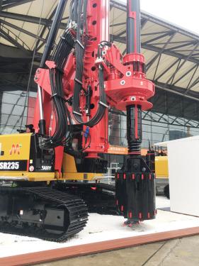 三一重工SR235-C10旋挖钻机高清图 - 2020宝马展实拍
