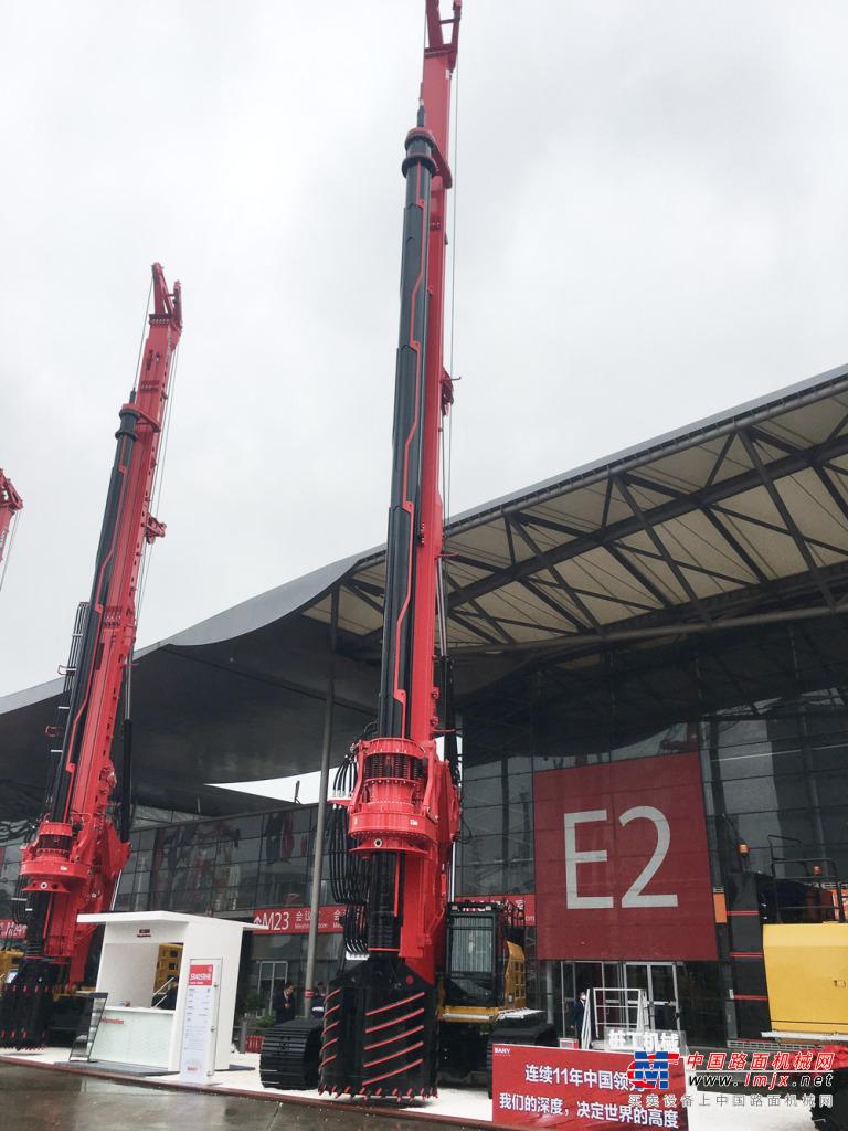 三一重工SR405R-HK旋挖钻机高清图 - 2020宝马展实拍