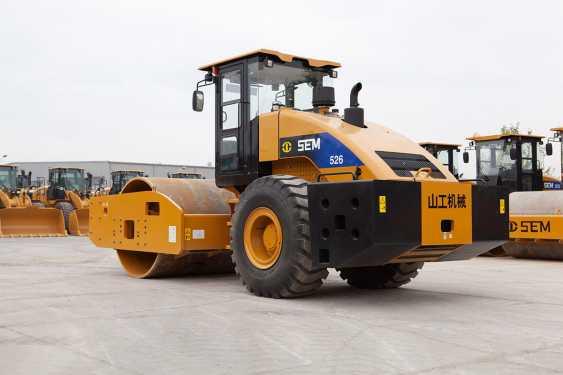 山工SEM676D轮式装载机高清图 - 外观