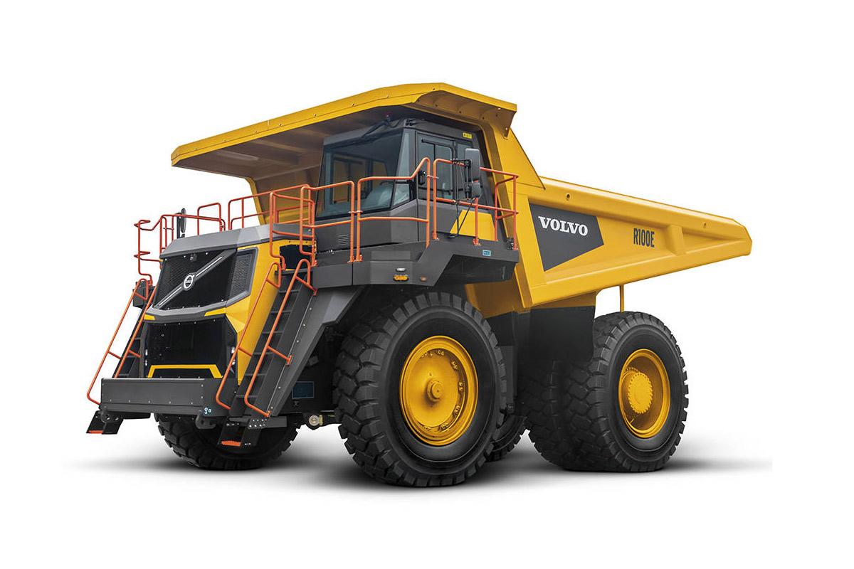 沃尔沃R100E自卸车高清图 - 外观