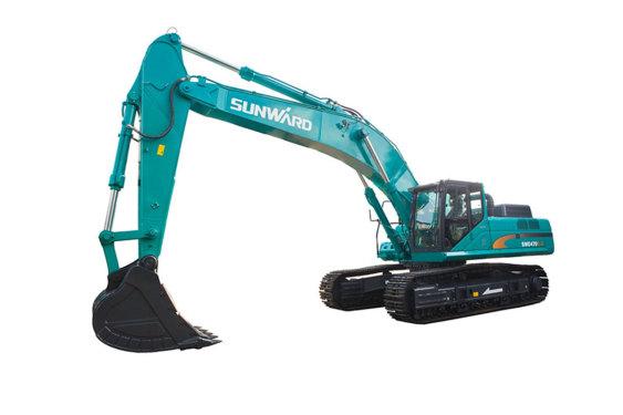 山河智能SWE470E-3大型挖掘机