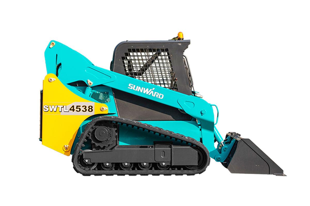 山河智能SWTL4538履带式滑移装载机高清图 - 外观