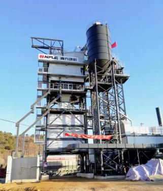 南方路机GLB2000高位式沥青混合料搅拌设备