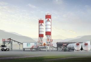 南方路机CRLB300连续式厂拌沥青冷再生设备