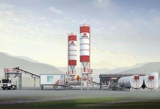 南方路机CRLB300连续式厂拌沥青冷再生设备高清图 - 外观