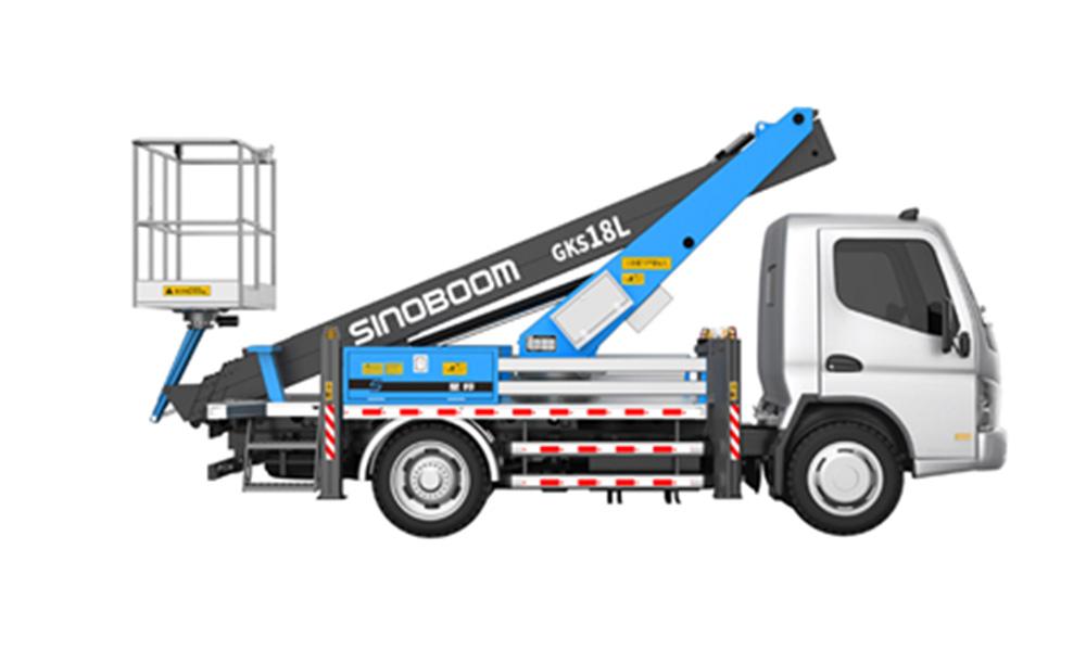 星邦重工GKS18L18米伸缩臂高空作业车高清图 - 外观