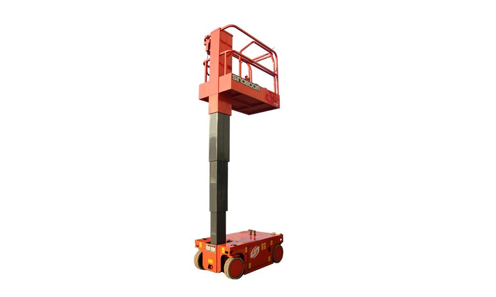 星邦重工VM04E桅柱式高空作業平臺高清圖 - 外觀