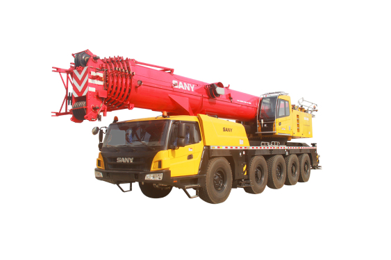 【720° VR Display】 Sany SAC1300S All-terrain Crane