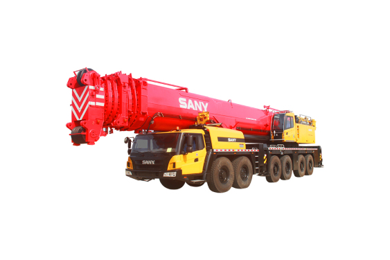 【720° VR Display】 Sany SAC4500S All-terrain Crane