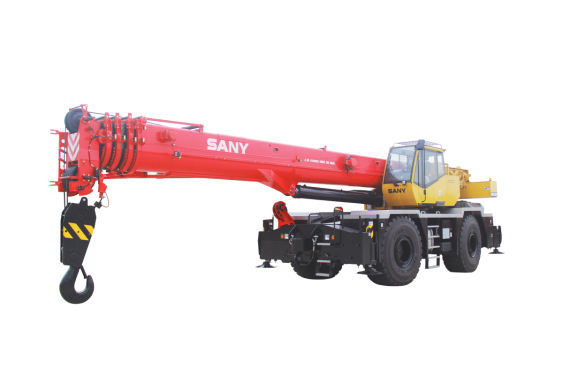 【720° VR Display】 Sany SRC600C Rough-terrain Crane
