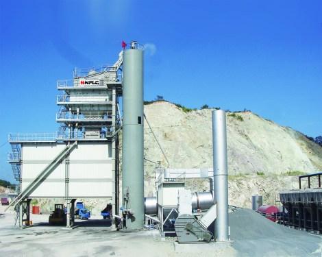 南方路机PLB5000旁通式沥青混合料搅拌设备