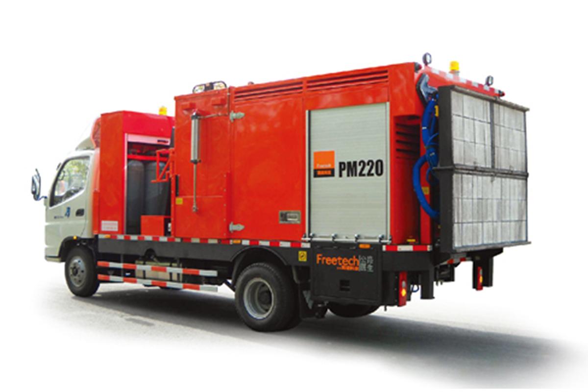 英达PM220热再生养护车高清图 - 外观