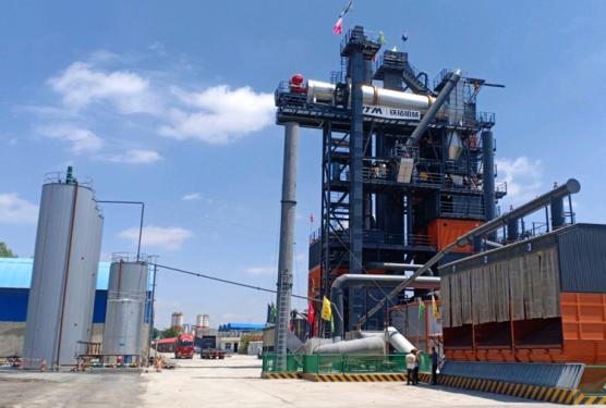 铁拓机械TS3015沥青厂拌热再生成套设备