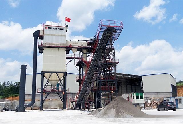 南方路机V7-100干式机制砂生产线