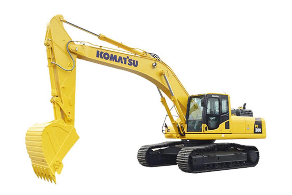 小松PC300-8M0大土方规格挖掘机高清图 - 外观