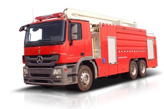 中联重科ZLF5401JXFJP50高喷射消防车高清图 - 外观