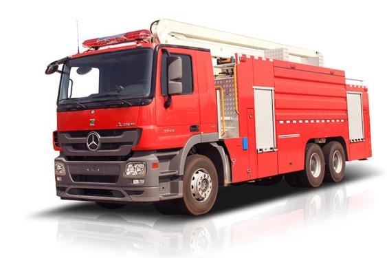 中联重科ZLF5401JXFJP50高喷射消防车