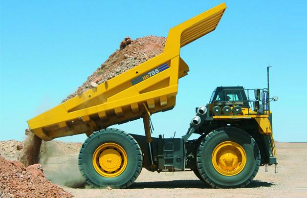 小松HD785-7非公路矿用自卸卡车高清图 - 外观