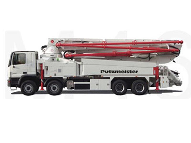 普茨迈斯特M46-5泵车高清图 - 外观