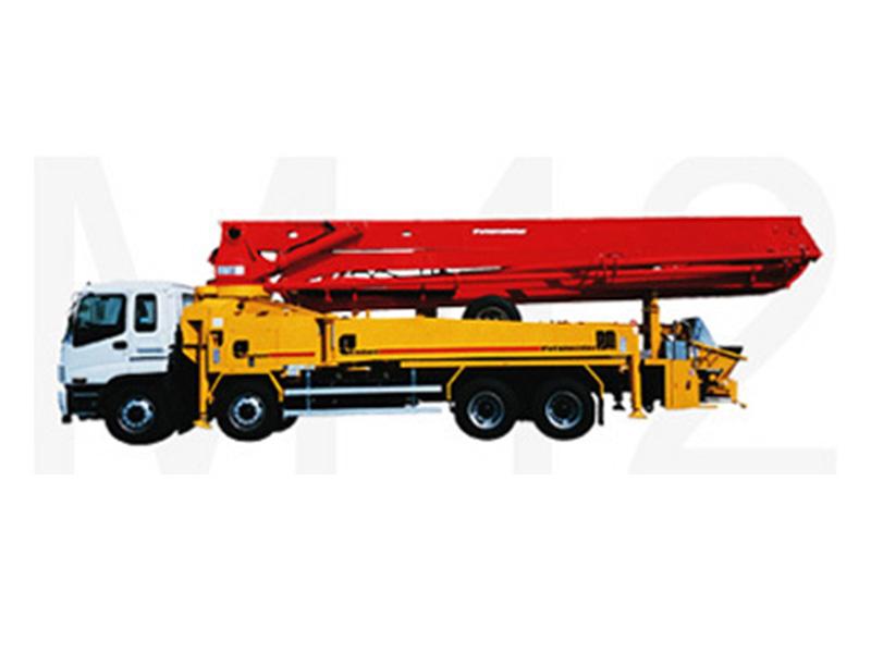 普茨迈斯特M42-5泵车高清图 - 外观