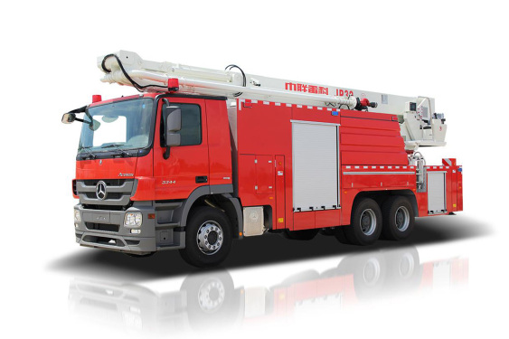 中联重科ZLF5310JXFJP32举高喷射消防车