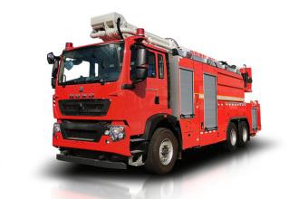 中联重科ZLF5340JXFJP32举高喷射消防车高清图 - 外观