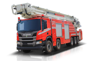 中联重科ZLF5510JXFJP72举高喷射消防车
