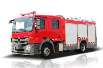 中联重科ZLF5170GXFAP45城市主战消防车高清图 - 外观