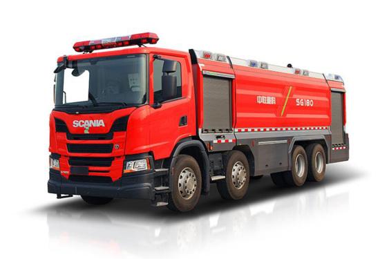 中联重科ZLF5360GXFPM180/ZLF5360GXFSG180泡沫/水罐消防车
