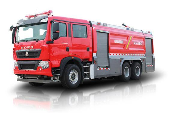 中联重科ZLF5340GXFPM180/ ZLF5340GXFSG180泡沫/水罐消防车