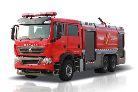 中联重科ZLF5280GXFPM120/ ZLF5280GXFSG120泡沫/水罐消防车