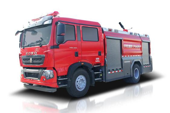 中联重科ZLF5190GXFPM80/ ZLF5190GXFSG80泡沫/水罐消防车