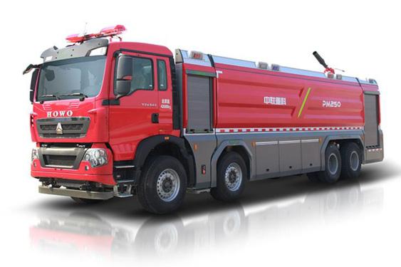 中联重科ZLF5430GXFPM250/ ZLF5430GXFSG250泡沫/水罐消防车