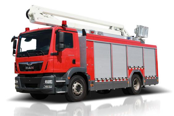 中联重科ZLF5140TXFZM90照明消防车