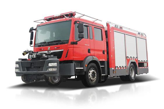 中联重科ZLF5170TXFGD170轨道消防车
