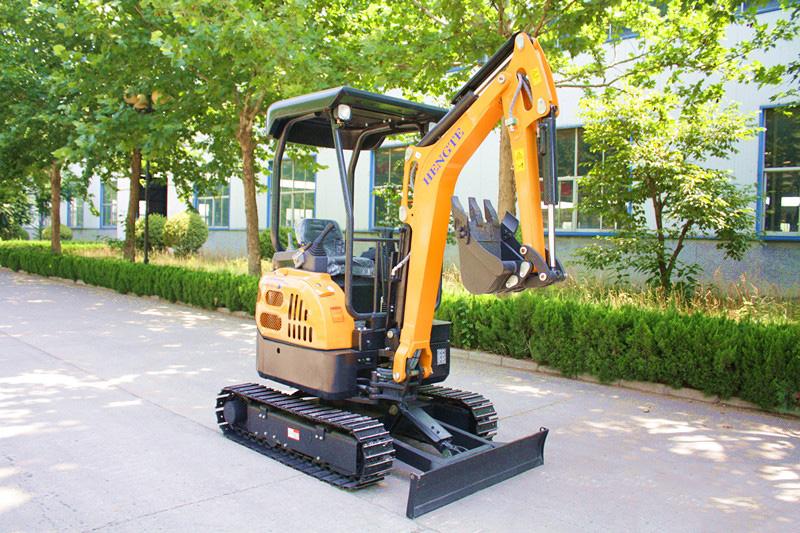 恒特HT21恒特挖掘机挖掘机高清图 - 外观