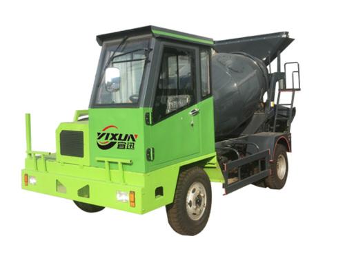 宜迅YX-3500自制3.5方混凝土搅拌车