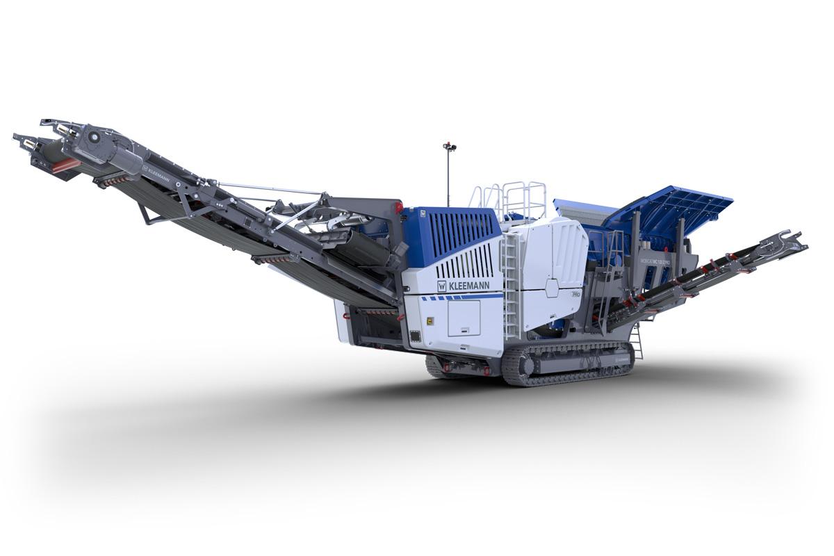 克磊镘(KLEEMANN)MC 120 Z PRO 移动颚式破碎设备高清图 - 外观