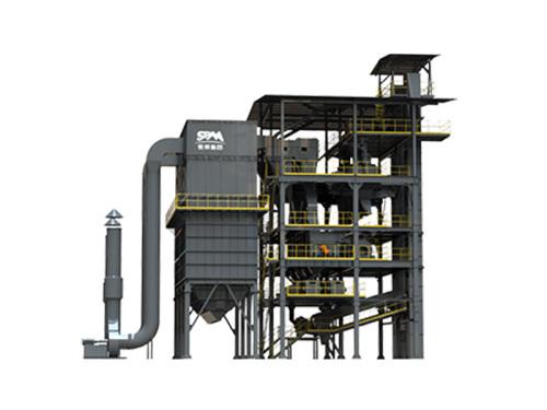 世邦VUT-220塔楼干法制砂成套系统