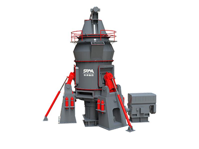 世邦LM预粉磨系列立式磨粉机高清图 - 外观