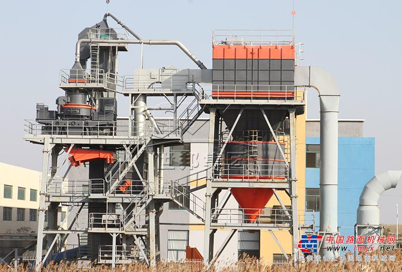 世邦VUT-220塔楼干法制砂成套系统高清图 - 外观