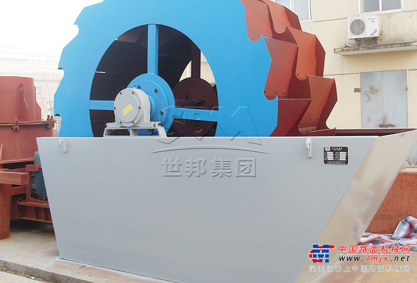 世邦XSD3016洗砂机高清图 - 外观