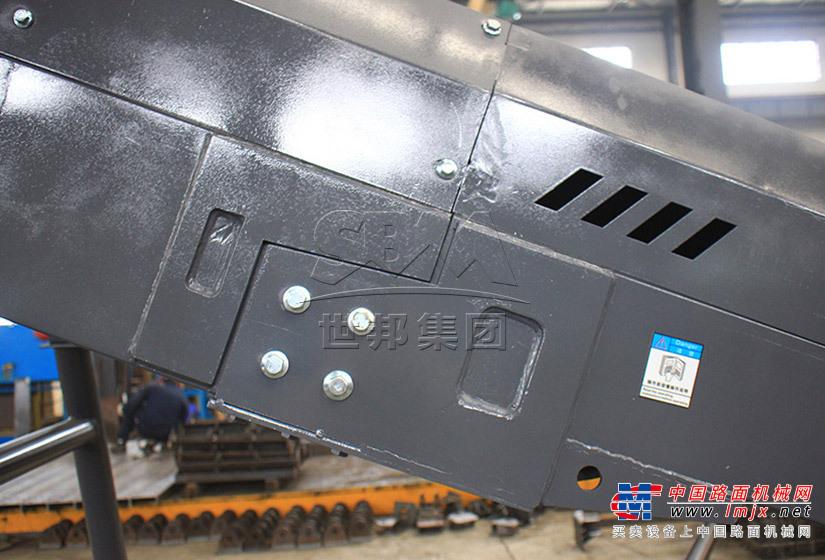世邦B6X500带式输送机高清图 - 外观