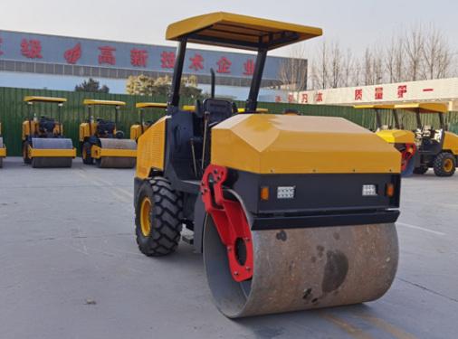 宜迅4吨单钢轮压路机