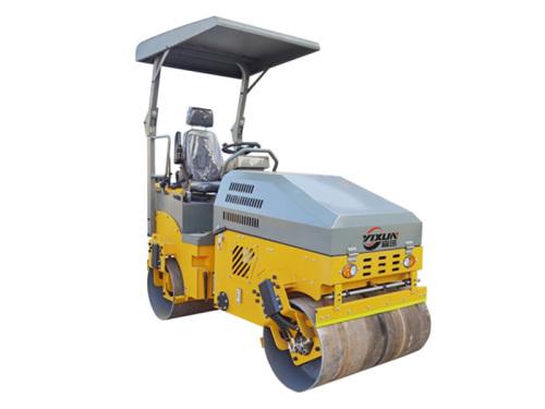 宜迅3吨全液压双钢轮压路机